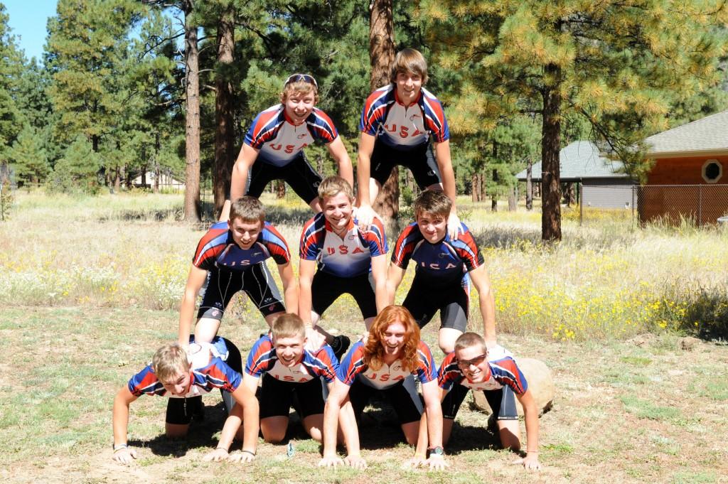 The original squad, 2010.